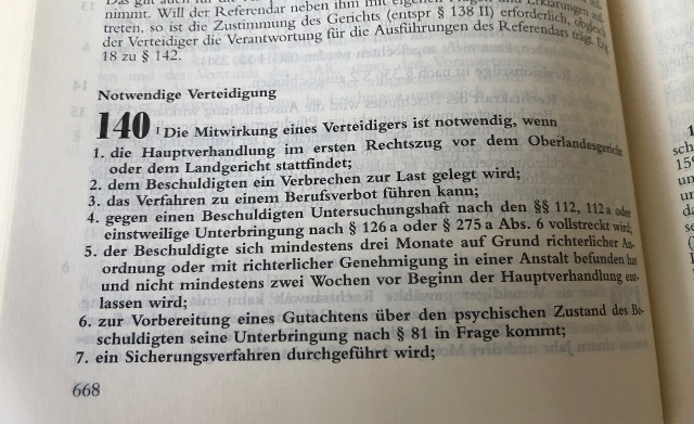 Pflichtverteidiger Strafrecht Eggenfelden